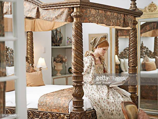 bedchamber solitude - elizabethan style stock photos and pictures
