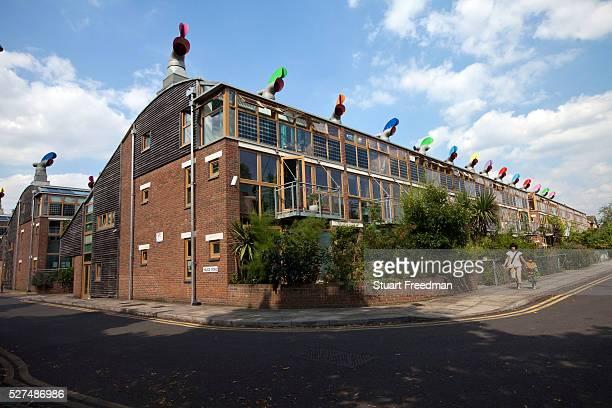 Beddington Zero Energy Development is an environmentally friendly housing development in Hackbridge London UK Designed by the architect Bill Dunster...