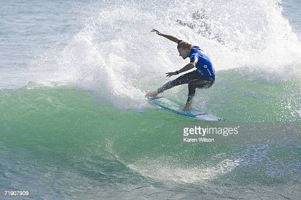 Bede Durbidge of Gold Coast Australia scores a sensational victory when he claims his first WCT victory of his career at the Boost Mobile Pro...