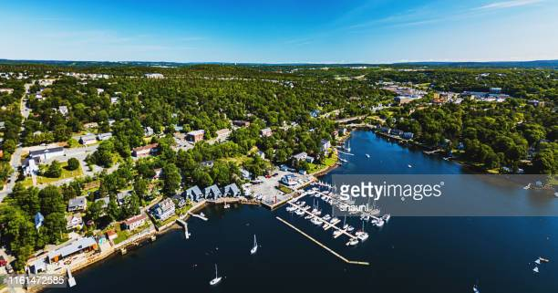 bedford basin marina - bedford nova scotia stock pictures, royalty-free photos & images