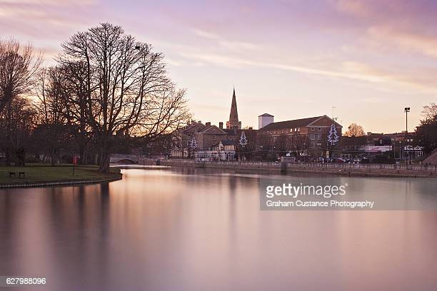 bedford embankment - bedford england stock photos and pictures