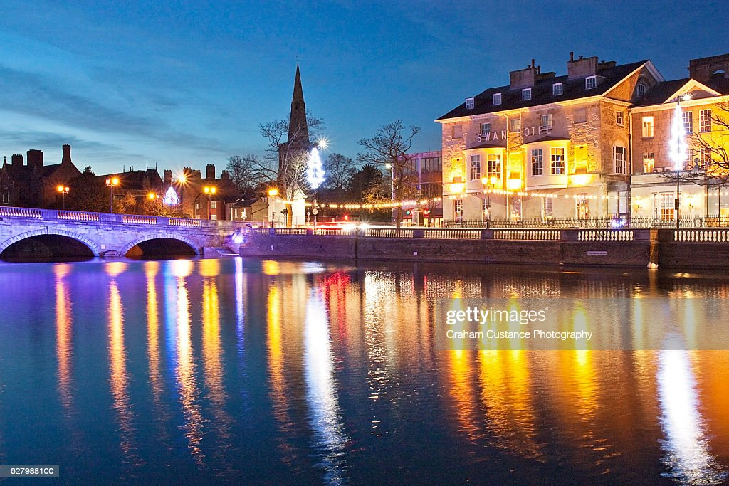 Bedford Lights : Stock Photo