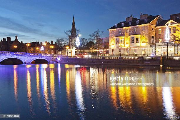 bedford lights - bedfordshire stock photos and pictures