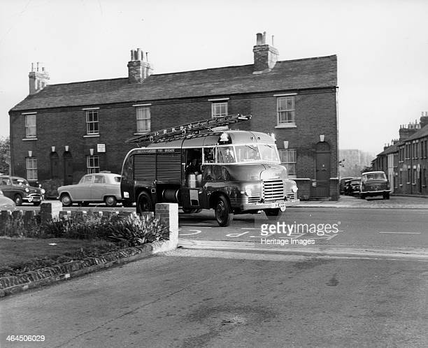 Bedford S type fire engine A fire engine returning from a callout turns into the station Bedford's 7 ton S type lorry was first introduced in 1950
