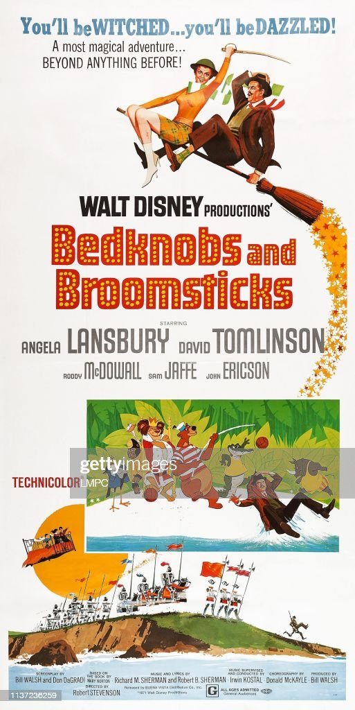 Bedknobs And Broomsticks : News Photo