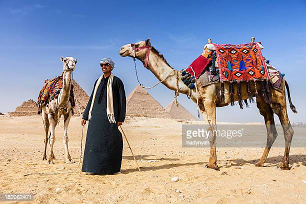 Bedouin and pyramids