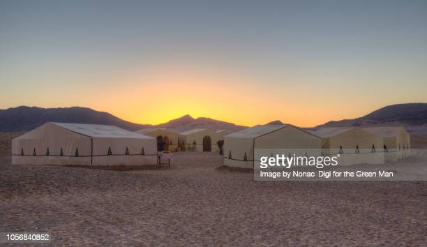 bedouin camp, morocco - bedouin stock pictures, royalty-free photos & images