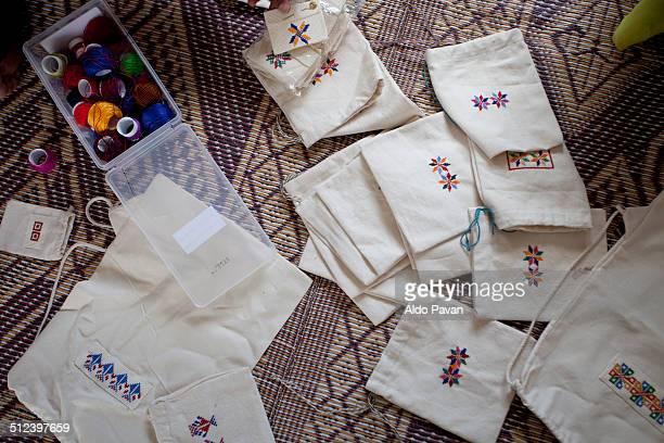 Bedouin embroidery crafts, Wadi Abu Hindi bedouin