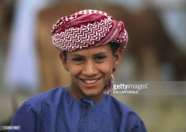 Bedouin kids in Nizwa Oman on December 11 2009