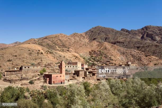 Bedouin village, Morocco