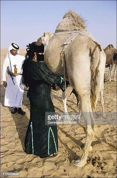 Bedouin women of the Rub al Khali desert the largest desert in Saudi Arabia In February 2003Noura and all of the other women are in charge of milking...