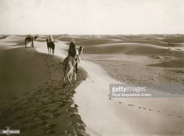 [Bedouins on camels] Tunisia 1930