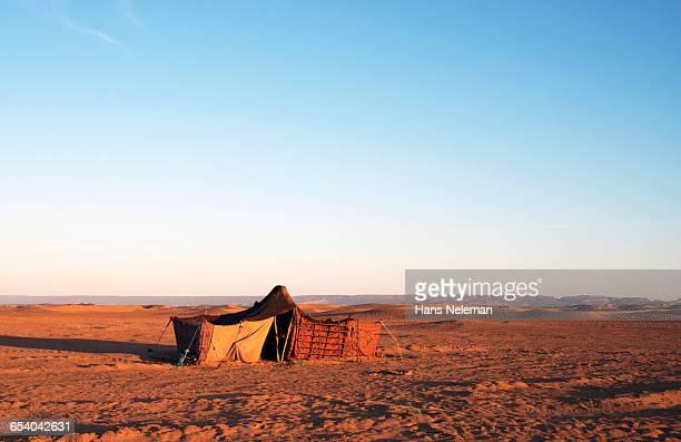 Bedouin?s tent in the desert