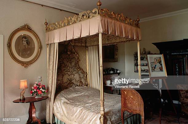 Bedroom at Glamis Castle