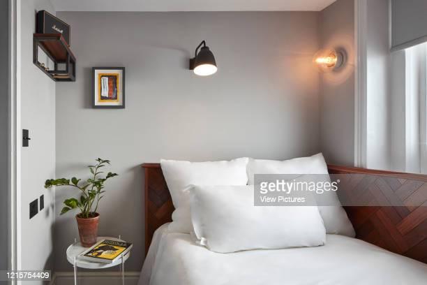 Bedroom at The Pilgrm. The Pilgrm, Paddington., London, United Kingdom. Architect: n/a, 2017..