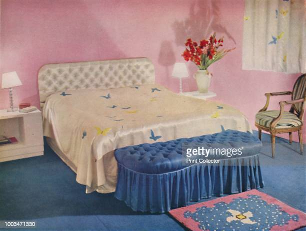 Bedroom Designed by Green and Abbott Ltd' 1939 From Decorative Art 1939 The Studio Year Book edited by C G Holme [The Studio Ltd London 1939] Artist...