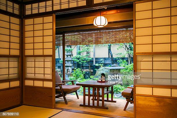 A bedroom in Hiiragiya ryokan a small traditional Japanese inn which has been in the family for six generations and among Kyotos most illustrious...
