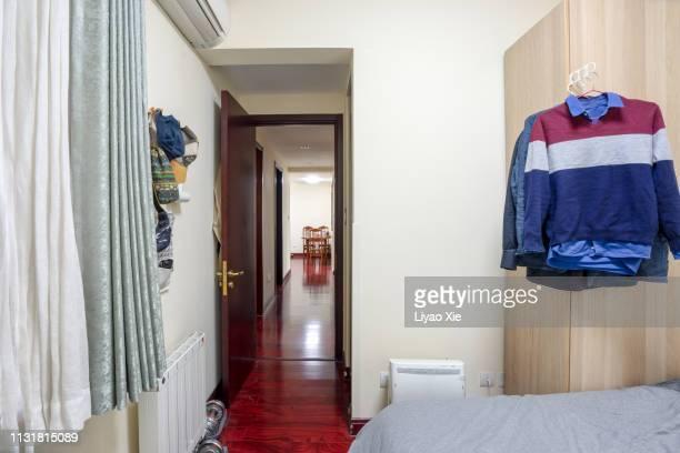 bedroom interior - liyao xie fotografías e imágenes de stock