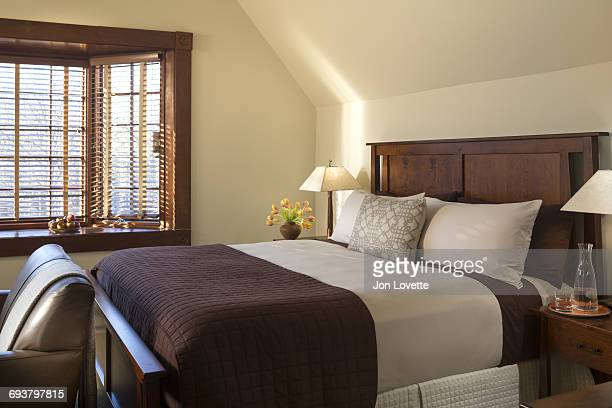 Bedroom interior with Large Window