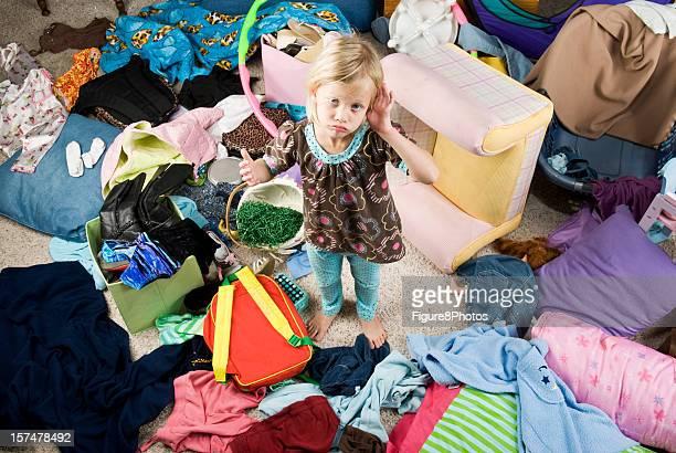 Bedroom Mess
