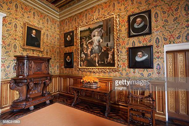 Bedroom Of Francois I In The Chateau De Chenonceau Chenonceau IndreEtLoire France