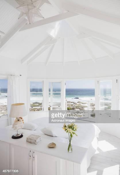 Bedroom overlooking ocean