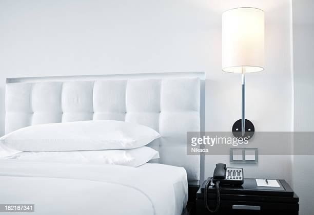 bedroom - sheet bedding stock photos and pictures