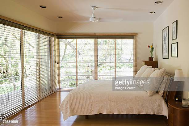 quarto - cama de casal - fotografias e filmes do acervo