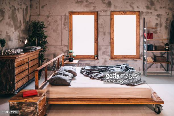 bedroom - hostel stock pictures, royalty-free photos & images