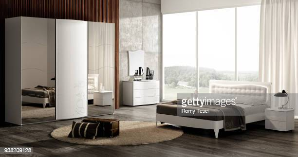 bedroom - hotel stock pictures, royalty-free photos & images