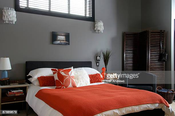 bedroom scene - lori andrews stock pictures, royalty-free photos & images