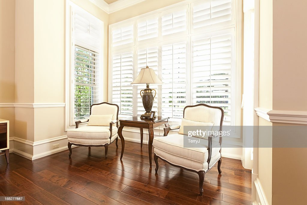 Bedroom Sitting Area : Stock Photo