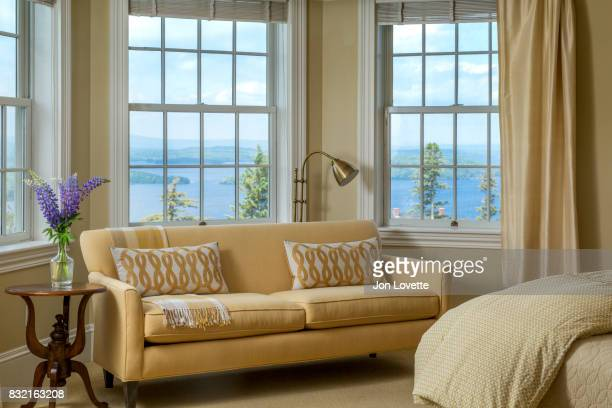 Bedroom with View of Lake