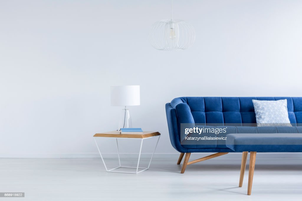 Marvelous Bedside Table Next To Sofa High Res Stock Photo Getty Images Uwap Interior Chair Design Uwaporg