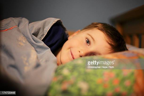 bedtime boy - pillow stock pictures, royalty-free photos & images