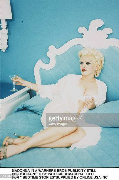 Bedtime Stories Publicity Stills From Warners Bros Of Madonna