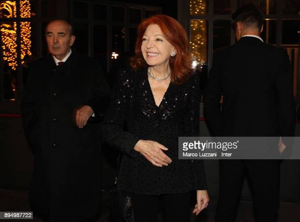 Bedy Moratti attend FC Internazionale Christmas Party on December 18 2017 in Milan Italy