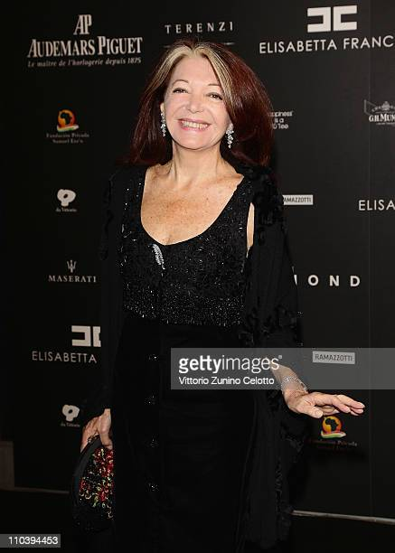 Bedy Moratti attends the Fundaction Privada Samuel Eto'o Charity Event Red Carpet on March 17 2011 in Milan Italy