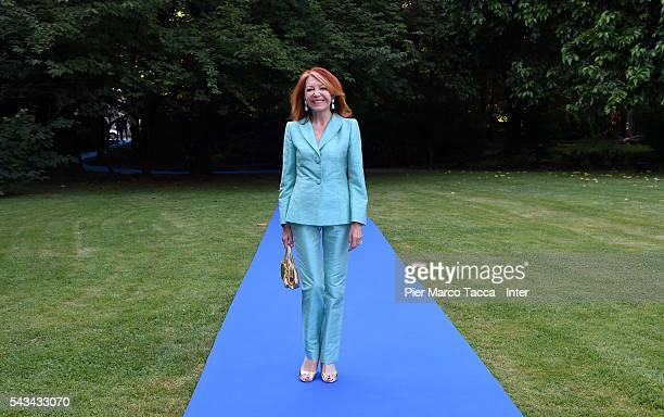 Bedy Moratti attends the gala dinner after FC Internazionale Shareholder's Meeting on June 28 2016 in Milan Italy
