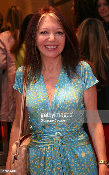 Bedy Moratti attends the Opening Ceremony of the new Bulgari shop on May 18 2006 in Milan Italy