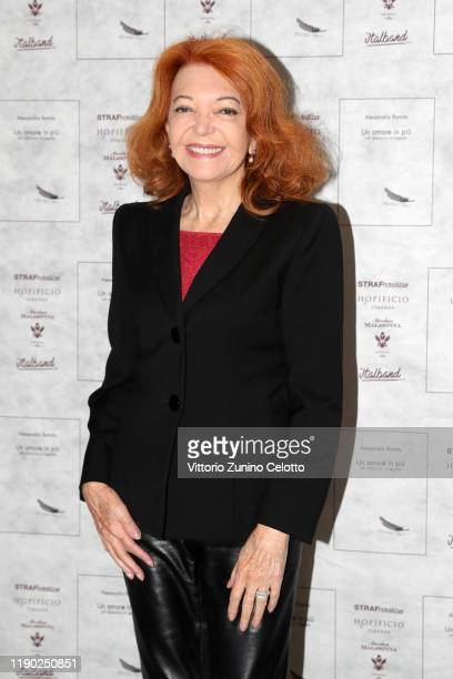 Bedy Moratti attends the presentation of the book Un Amore In Più by on November 26 2019 in Milan Italy