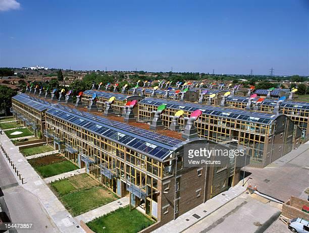 Bedzed [Beddington Zero Energy Development] Sutton United Kingdom Architect Bill Dunster Architects Bedzed Exterior