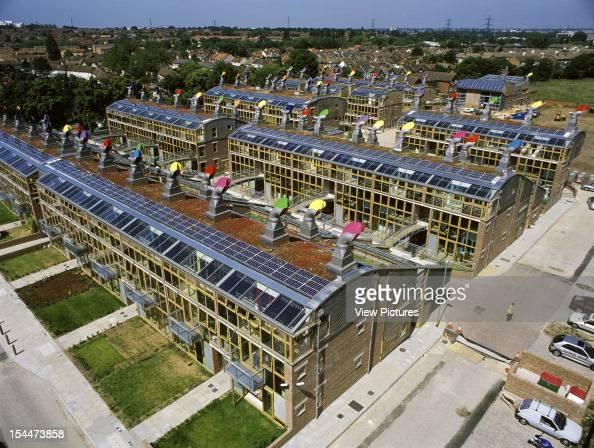 Bedzed Beddington Zero Energy Development Sutton