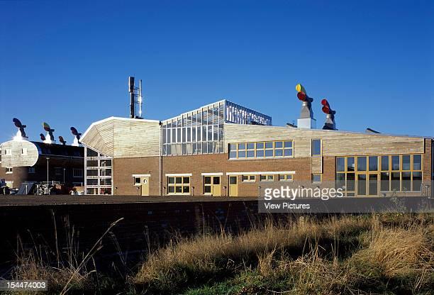 Bedzed [Beddington Zero Energy Development] Sutton United Kingdom Architect Bill Dunster Architects Bedzed Living Machine Building