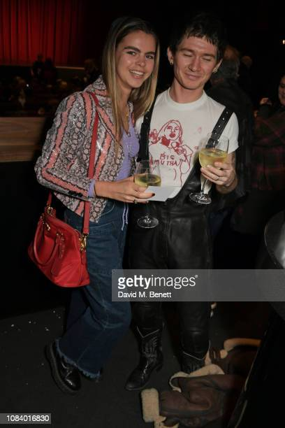 Bee Beardsworth and Louie Banks attend a special screening of See Know Evil hosted by LOVE Magazine and Katie Grand at The Everyman Screen on the...