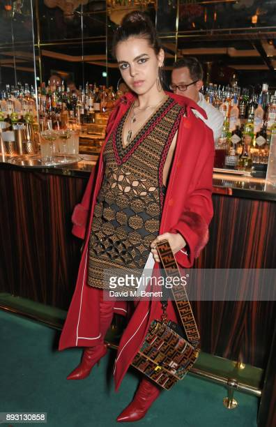 Bee Beardsworth attends an after party celebrating the FENDI Sloane Street Boutique opening at Isabel on December 14 2017 in London England
