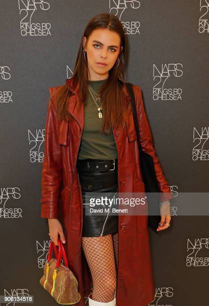Bee Beardsworth attends the NARS Kings Road Opening Party on January 17 2018 in London United Kingdom