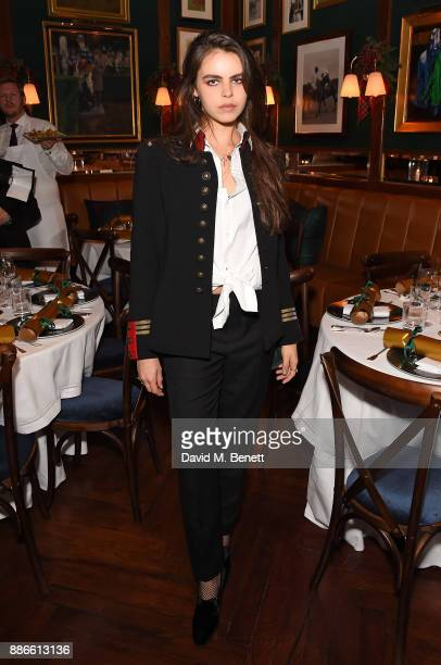 Bee Beardsworth attends the Polo Bear Holiday Dinner hosted by Polo Ralph Lauren and Alexandra Richards at Ralph's Coffee Bar on December 5 2017 in...