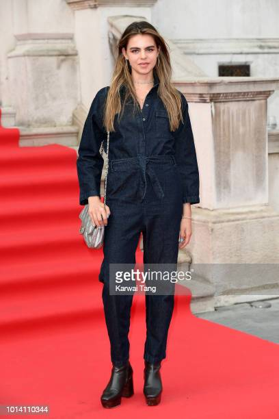 Bee Beardsworth attends the UK Premiere of 'The Wife' at Somerset House on August 9 2018 in London England