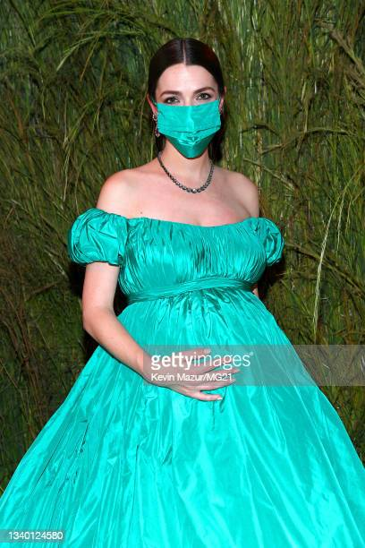 Bee Carrozzini attends The 2021 Met Gala Celebrating In America: A Lexicon Of Fashion at Metropolitan Museum of Art on September 13, 2021 in New York...